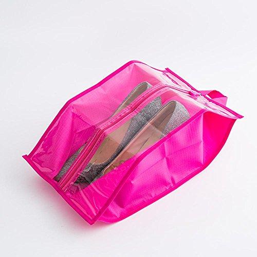 2-Pack Chaussure Sac /à Linge pour Machine /à Laver avec Fermeture /Éclair Durable Haute Protection /à Laver Sac pour Le Rangement et de Voyage MUXItrade Sac /à Linge pour Chaussures//Baskets