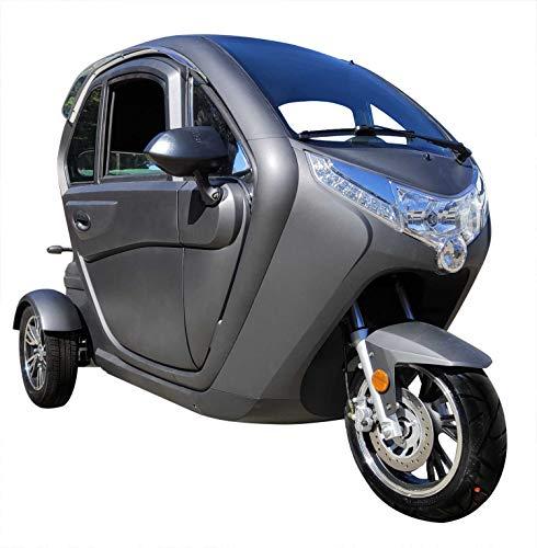 "E-Kabinenroller\""Futura 2\"", 45 km/h, 2000 Watt, 60V 45AH Blei-Gel-Akku, 60 Kilometer Reichweite"