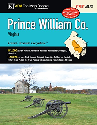 Prince William County, VA Street Atlas