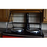 Futuris - AGA/Range Oven - Drying Stand - Clothes Airer/Pans Tower - Black