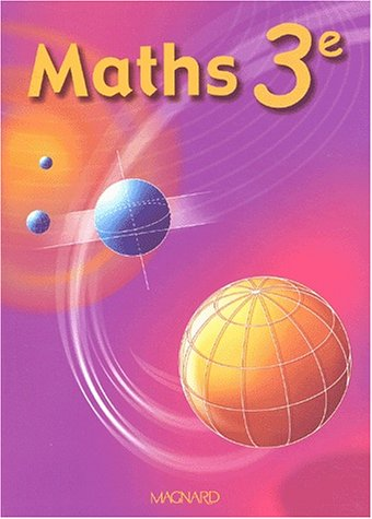 Maths, 3ème