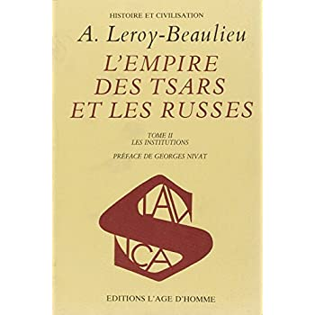 Empire, Tsars et Russes, tome 2