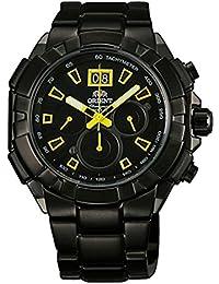 Reloj Orient Classic Sporty–Yellow cuarzo reloj de hombre Day Chrono Gun Color ftv00007b0