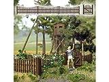 Busch 10241 Gartenzaun echt Holz Spur 0 Bausatz