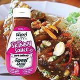 Skinny Foods Salsa Sweet Chilli Senza Calorie Zero Grassi Zero Zucchero, Condimento Dietetico, 425ml (Sweet Chilli Sauce)