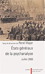 États généraux de la psychanalyse, Juillet 2000