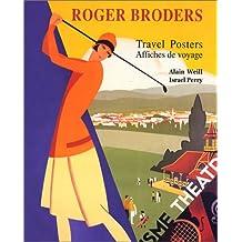 Roger Broders, affiches de voyage (bilingue français-anglais)