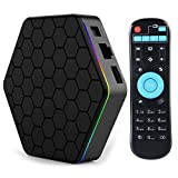 iBOYA Android Smart TV Box T95Z Plus Android 7.1 3 GB RAM 32 GB ROM Octa Core 4 K BT4.0 Set Top Boîte Air Souris Double WIFI TV Box