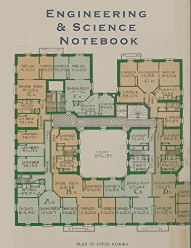 Cookie Quad (Engineering & Science Notebook: Graph Paper Quad Ruled Math Graphing Composition Book For Architects, Engineers, Scientists, and Students (Floor Plans, Band 1))