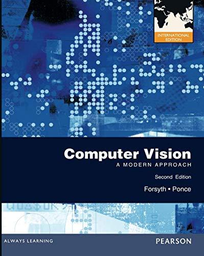 Computer Vision por David Forsyth