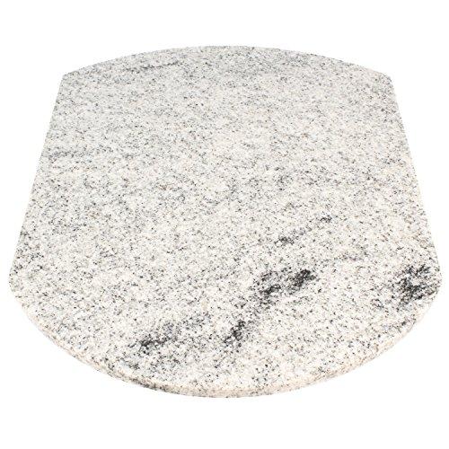 Multigleiter Granit Viscont White Multi-Gleitbrett geeignet für den Thermomix TM5 und TM31...