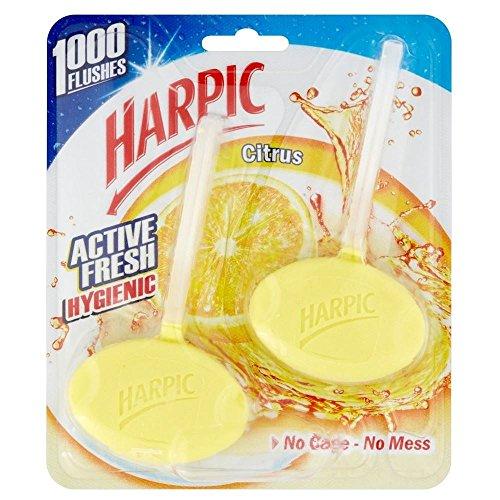 Harpic Aktiv Frischen Zitrus Hygienisch Frisch (2) (Frische Zitrus-lotion)