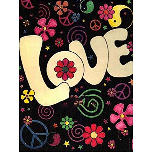 Nolvam Diamond Painting Love Cross Stitch Diamond Embroidery Cartoon Gift RoundWedding Decoration Valentine's Day Gifts