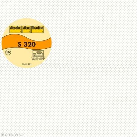 Vlieseline S320 weiß 90cm Meterware