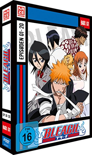 Bleach TV Serie – DVD Box 1 (Episoden 1-20) (3 DVD's)