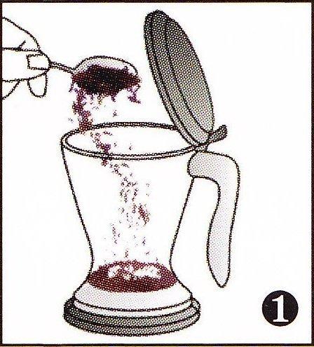 Teebereiter und Kaffeebereiter MAGIC II von ChaCult zum einfachen Zubereiten von Tee und Kaffee - Teezubereiter und Kaffeezubereiter - Fassungsvermögen 0,5l - Teefilter zum mehrfachen Aufbrühen von Tee und Kaffee geeignet