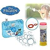 Set infantil juguetes (cámara de fotos con pistola de pompas)diferentes motivos - Frozen