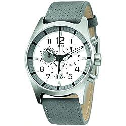 XEN Herren Chronograph grau/weiß XQ0217