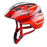 Cratoni Akino Fahrradhelm Kids rennauto rot Glanz Kopfumfang S | 49-53cm 2018 Mountainbike Helm Downhill