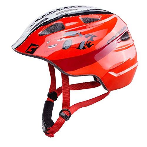Cratoni Akino Helmet Kinder rennauto rot Glanz Kopfumfang S | 49-53cm 2019 Fahrradhelm