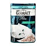 Gourmet | Perle Erlesene Streifen mit Gemüse mit Forelle und Spinat | 24 x 85 g