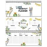 LamaKalender/Wochenkalender/Planer/WeeklyPlanner/Schulkalender/Haushaltsplaner/To Do/Geschenkfür Tochter/Made in Germany/Tischkalender2018/Geschenkfür Schüler/Grundschule