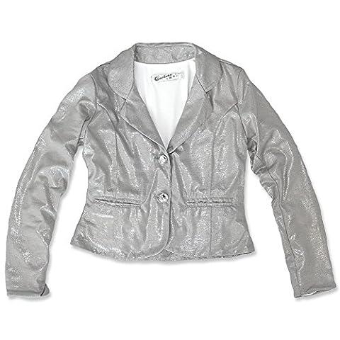 Carbone festlicher Blazer grey silver 202.GR/25125 (146, silver grey)