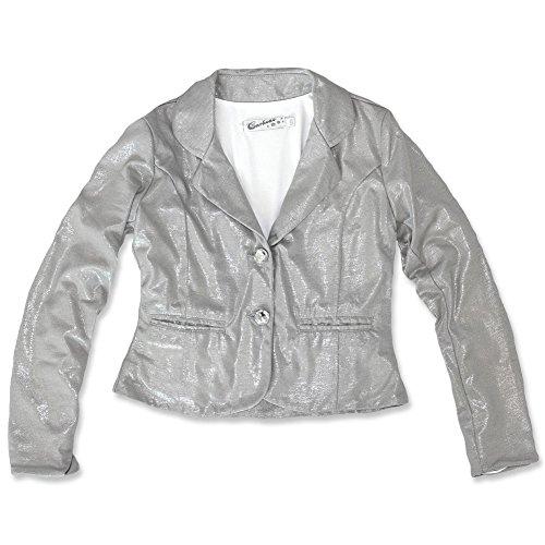Carbone festlicher Blazer grey silver 202.GR/25125 (128, silver grey)