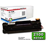 OBV kompatibler Toner ersetzt Canon 728 / CRG-728 für Canon I-Sensys MF 4410 / MF 4430 / MF 4450 / MF 4550 D / MF 4570 DN / MF 4580 DN