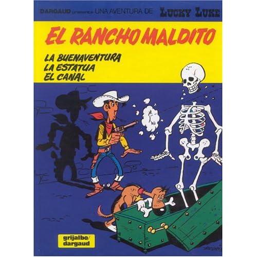 Lucky Luke, tome 28 : Le Ranch maudit (en espagnol)
