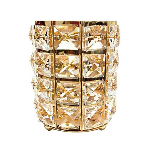 ck Romantisches Candlelight Dinner Requisiten Hochzeitsarrangement Stifthalter Hardware Dekoration, Gold, Silber (Farbe : Gold) ()