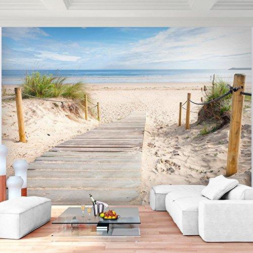 Sfondo fotografico mare 308 x 220 cm lana sfondo salotto camera da letto ufficio corridoio decorazione murali decorazione da muro moderna - 100% fatti in germania - 9007010b