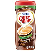 Sugar Free Creamy Chocolate Flavor Powdered Creamer, 10.2 oz, Sold as 1 Each
