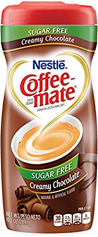 Coffee Mate SUGAR FREE Creamy Chocolate 289g