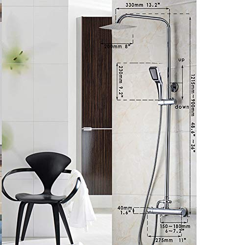 Zoom IMG-3 bagno termostatico vasca da rubinetto