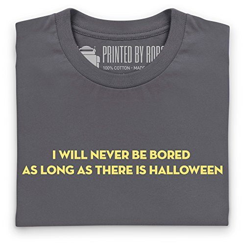 Never Bored T-shirt, Uomo Antracite