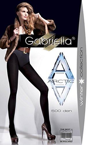 Gabriella-caldi pantaloni termici, aderenti invernali den arctic-500 marrone marrone