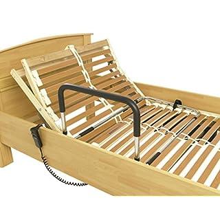 Aufstehhilfe und Bettgriff höhenverstellbar, Ideal für Rahmenbetten,Betten mit Rückenverstellung und Krankenbetten