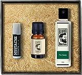 Beardo The Classic Beard Fragrance Hair Oil - Beard Wash & Moustache Growth Rollon Combo (Set of 3)