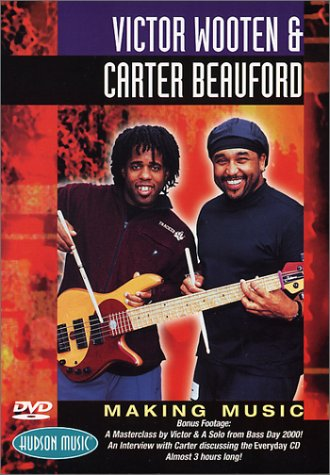 victor-wooten-and-carter-beauford-making-music-1999-uk-import