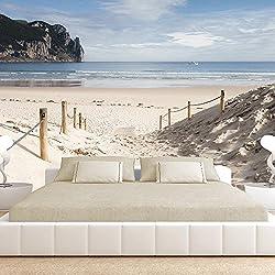 Fotomural 350x245 cm - playa naturaleza cielo lago
