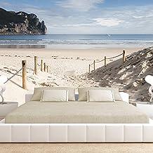 murando - Fotomural 400x280 cm - Papel tejido-no tejido - Papel pintado - playa naturaleza cielo lago c-B-0028-a-a
