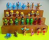Emte Satz Figuren Biene Maja 28 unterschiedliche Figuren Zum Spielen und Sammeln + 1 bmg2000 Sticker Aufkleber