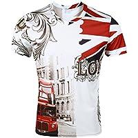 West See Herr Mann Designs Lion Löwen T-Shirt 3D-Druck beiläufige Hemd Bluse Kurzarm