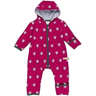 loud + proud Unisex Baby Schneeanzug Overall Woll-Anteil-5016, Violett (Berry Ber), 92 (Herstellergröße: 86/92)