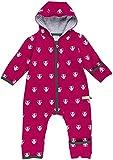 loud + proud Unisex Baby Schneeanzug Overall Woll-Anteil, Violett (Berry Ber), 56 (Herstellergröße: 50/56)