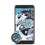 atFolix Schutzfolie passend für Nokia 6 (2018) Folie, ultraklare & Flexible FX Bildschirmschutzfolie (3X)
