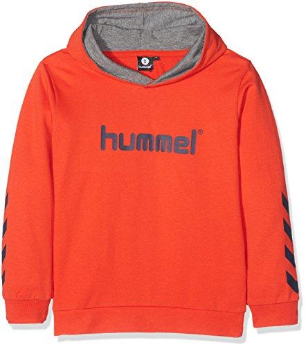 Hummel Jungen Kess Hoodie AW17 Sweatshirt, Cherry Tomato, 116