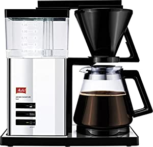 Melitta aroma Signature 100702 de Luxe Coffee Filter Machine – Switch/Stainless Steel