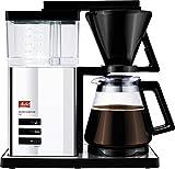 Melitta 100704 Signature De Luxe Style Kaffeefiltermaschine - Aromaschalter Hochglanz, chrome